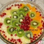 tarta cu crema de vanilie si fructe 6