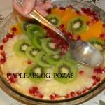 tarta cu crema de vanilie si fructe 8