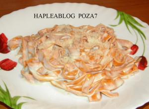 tagliatelle rosso cu sos gorgonzola 7