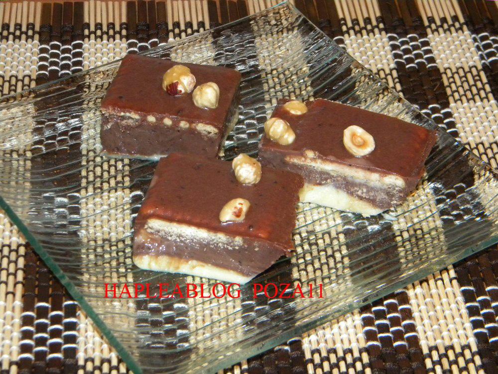 Ciocolata de casa cu biscuiti si alune retete haplea for Ciocolata de casa reteta clasica