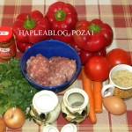 gogosari umpluti cu carne tocata 1