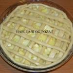 tarta cu gutuie si mere 7