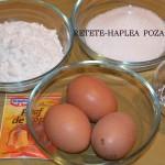 prajitura cu crema din lapte de cocos 1