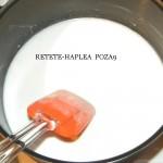prajitura cu crema din lapte de cocos 9