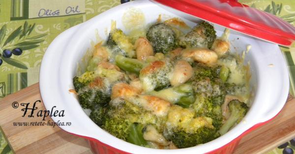 broccoli cu pui la cuptor poza bun