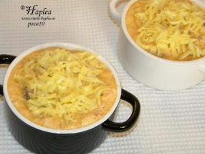 souflle de ciuperci cu jambon poza10