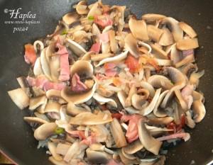 souflle de ciuperci cu jambon poza4