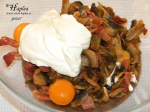souflle de ciuperci cu jambon poza7