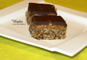 prajitura caramel cu nuca poza 8