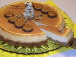 cheesecake cu caramel poza 12