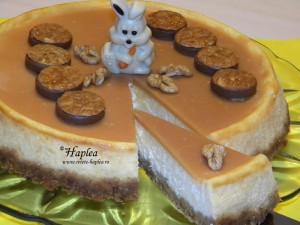 cheesecake cu caramel poza 13