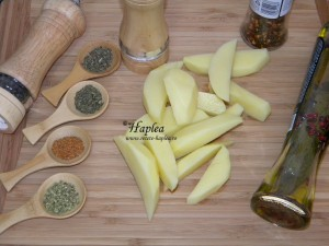 cartofi wedges poza 1