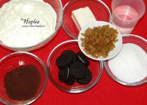 ciocolata de casa cu biscuiti oreo poza 1