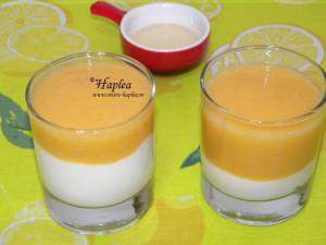 desert cu iaurt si piersici poza 4