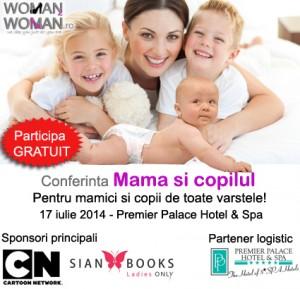 Conferință despre creșterea și educarea copiilor