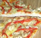 PIZZA DE PUI