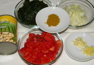 curry cu spanac si naut poza 1