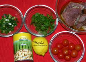 salata de naut cu gremolata si manzat poza 1