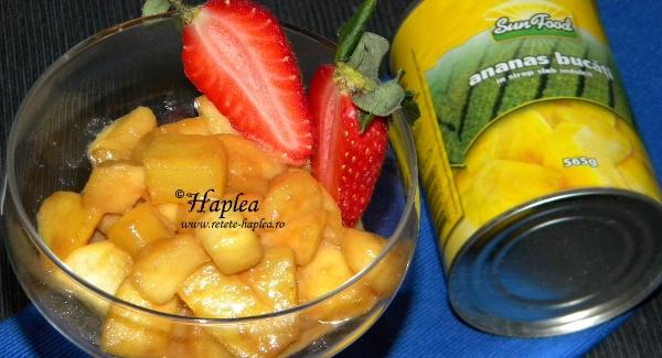 ananas cu mere caramelizate poza final
