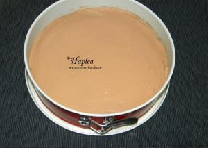 cheesecake cu ciocolata fara coacere poza 7