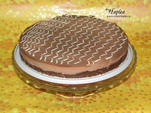 cheesecake cu ciocolata fara coacere poza 9