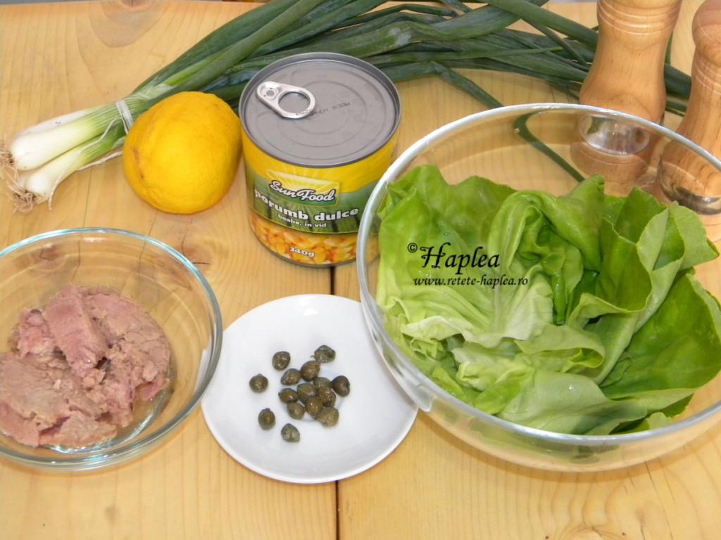 salata de ton cu porumb poza 1