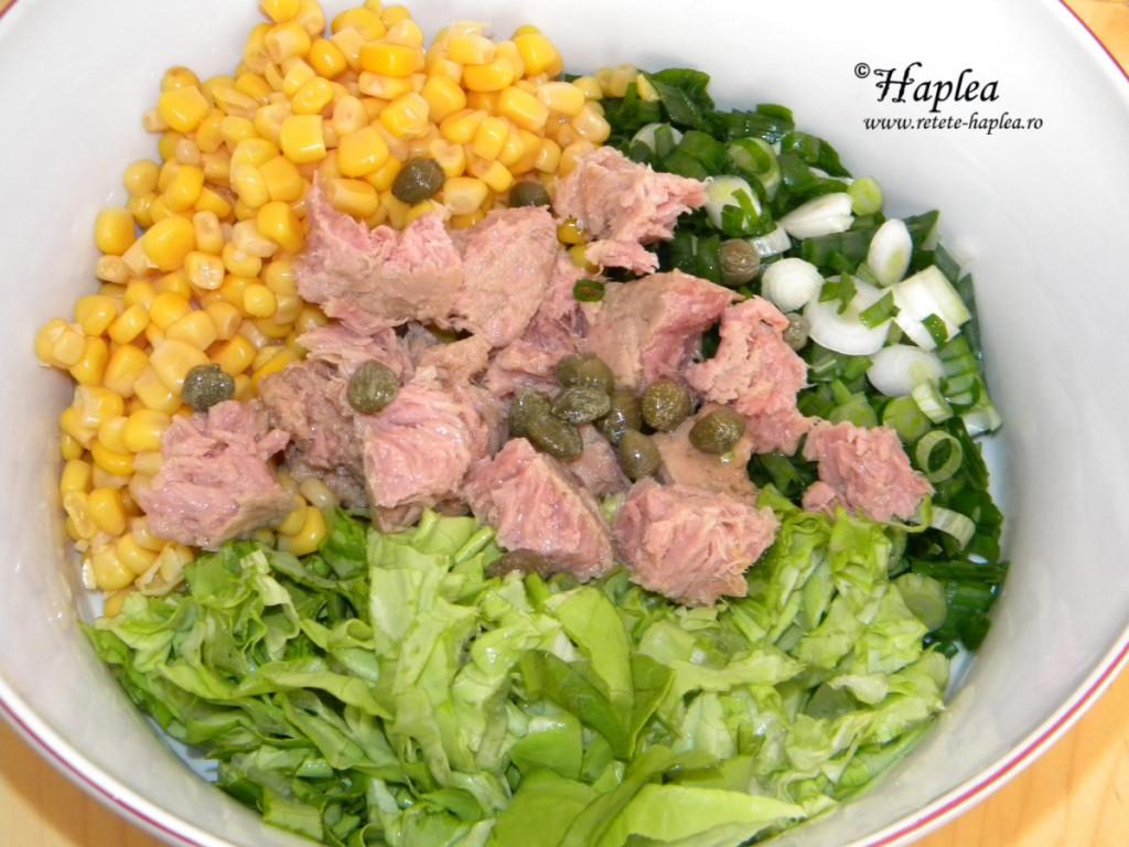 salata de ton cu porumb poza 2