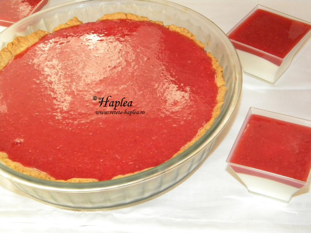 tarta dulce in trei culori poza 16
