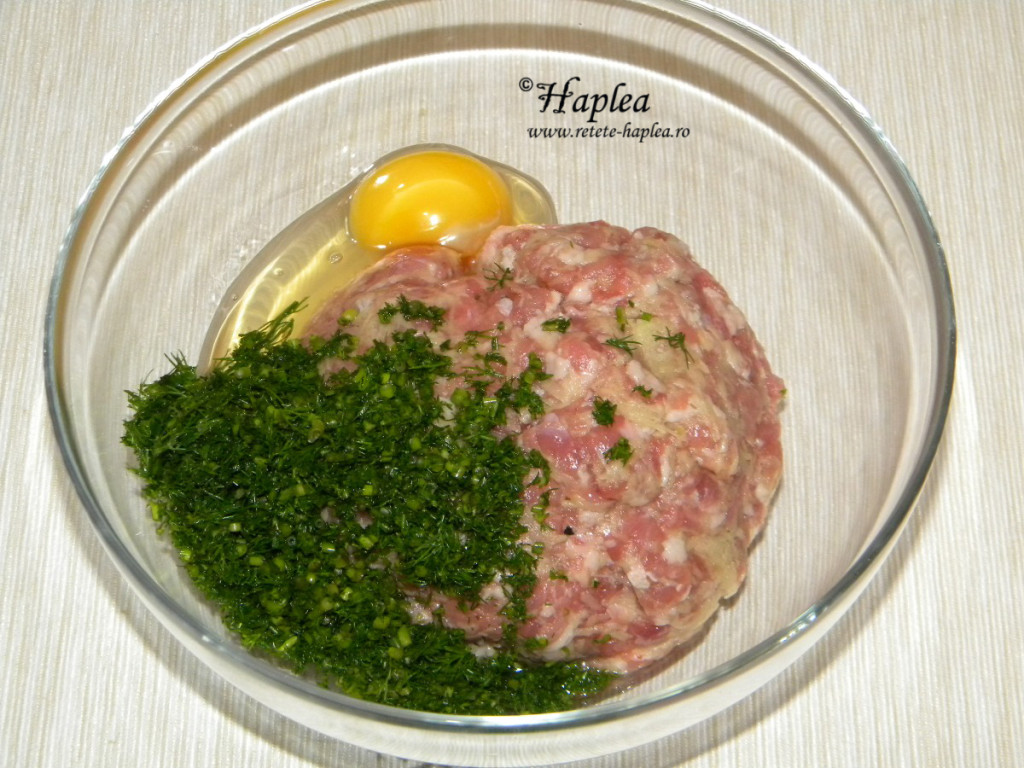 chiftele cu oua de prepelita la cuptor poza 2