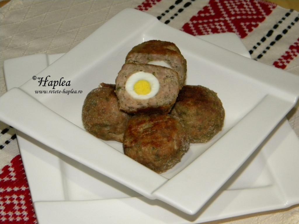 chiftele cu oua de prepelita la cuptor poza 6