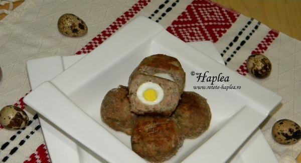chiftele cu oua de prepelita la cuptor poza 7