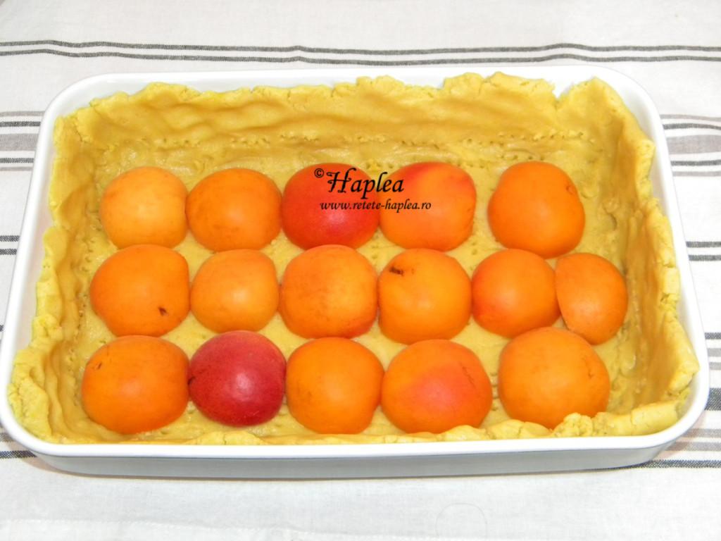 tarta cu caise poza 5