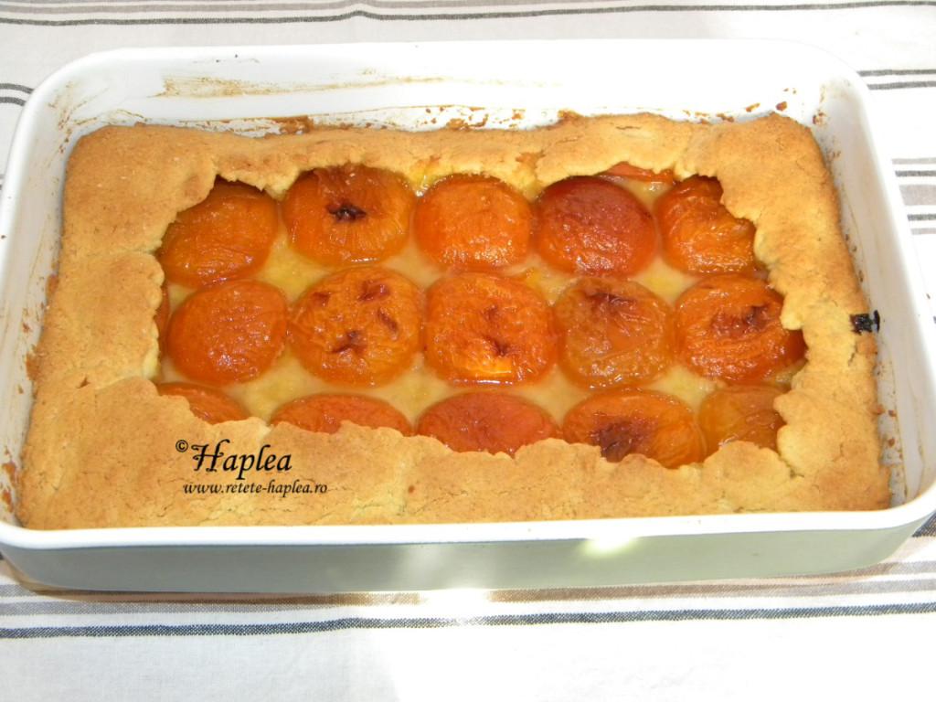 tarta cu caise poza 7