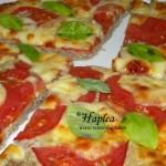 PIZZA CU BLAT DE CARNE SI BRANZA