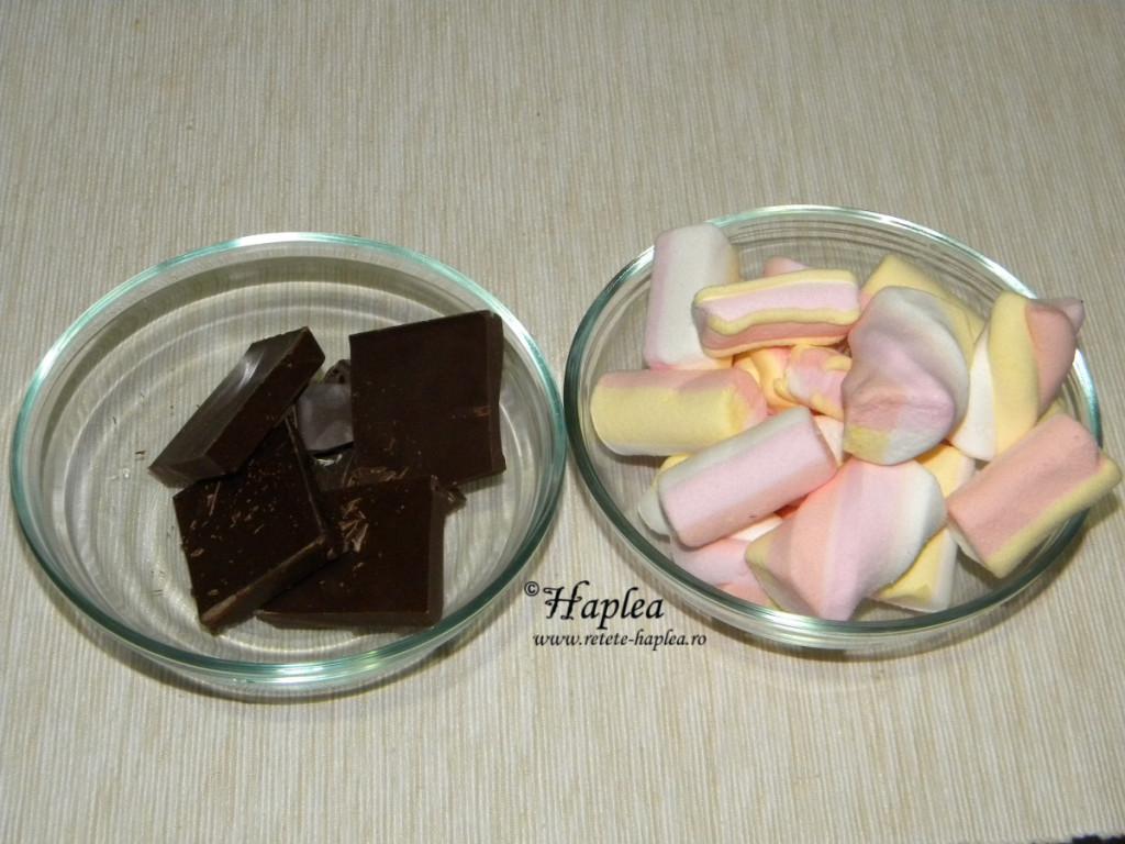 desert cu marshmallows poza 1