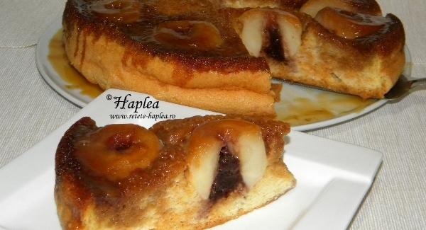 tort cu mere intregi caramelizate poza 18