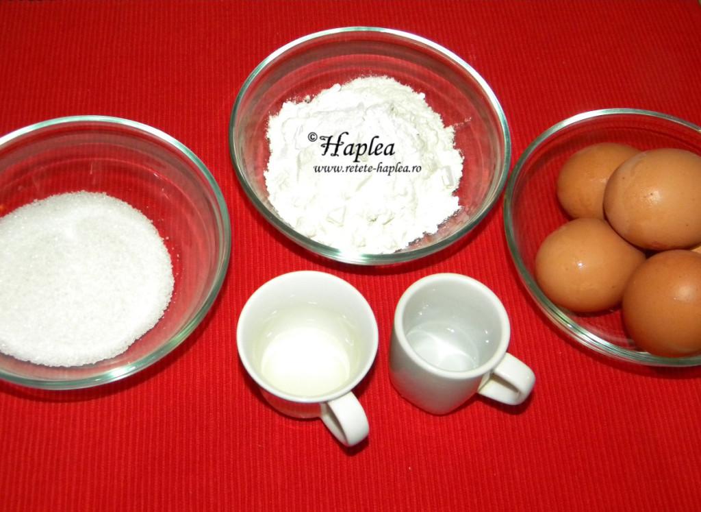 tort cu mere intregi caramelizate poza 5