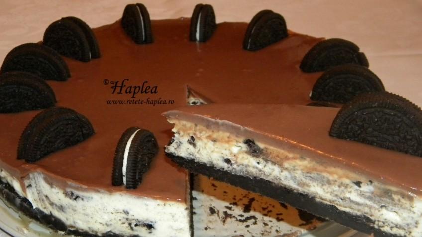 cheesecake cu biscuiti oreo poza 11