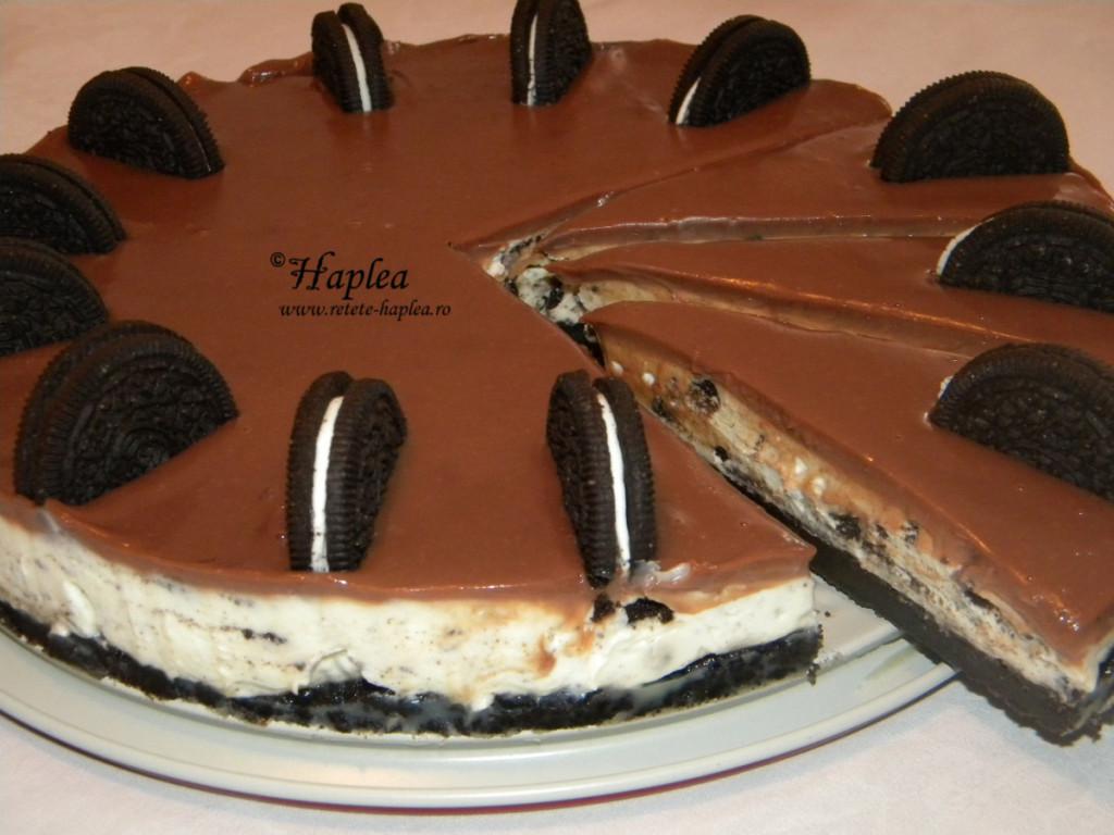 cheesecake cu biscuiti oreo poza 12
