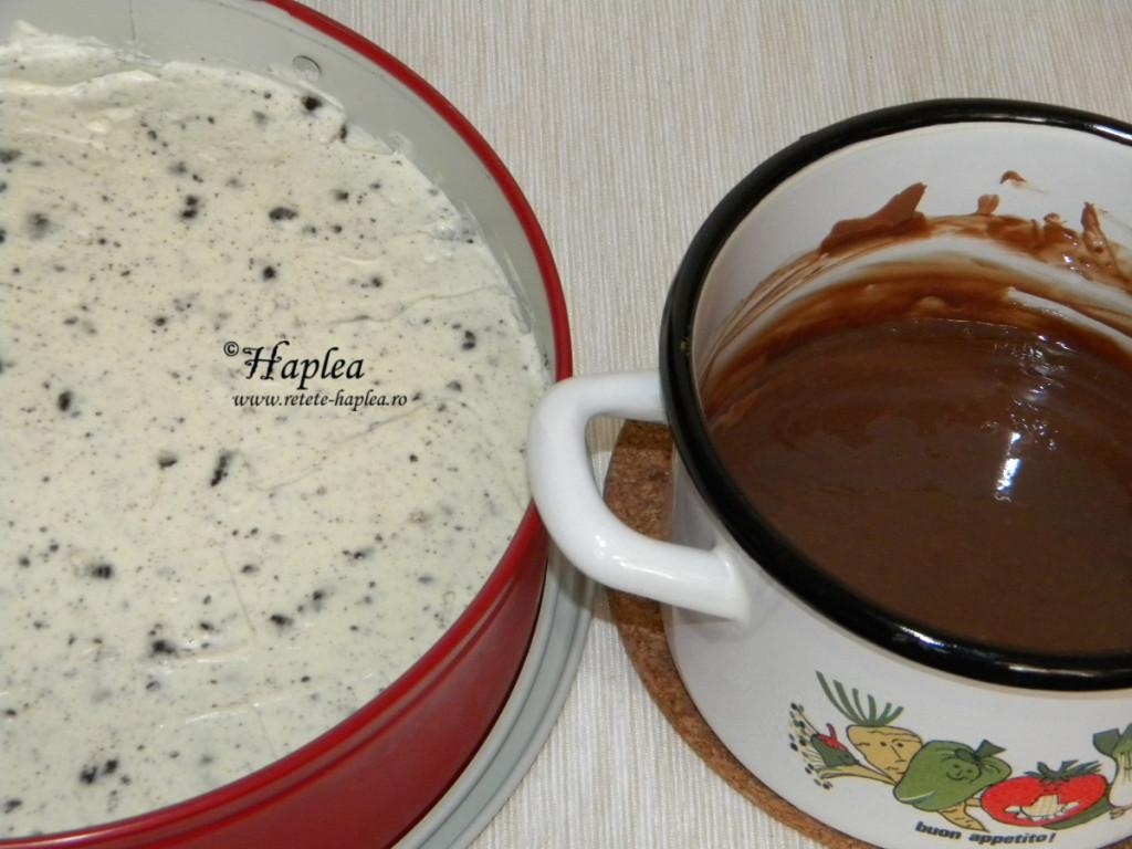 cheesecake cu biscuiti oreo poza 9