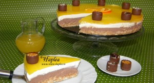 cheesecake cu jeleu de portocale poza final