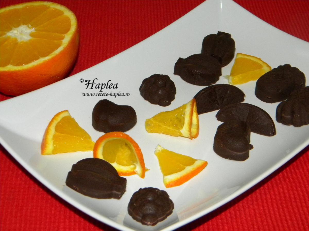 figurine de ciocolata cu portocala poza 5