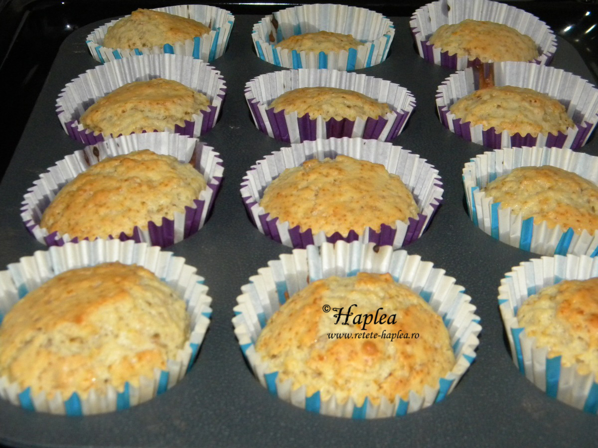 cupcakes cu portocale poza 8