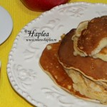 PANCAKES CU MERE SI MIERE