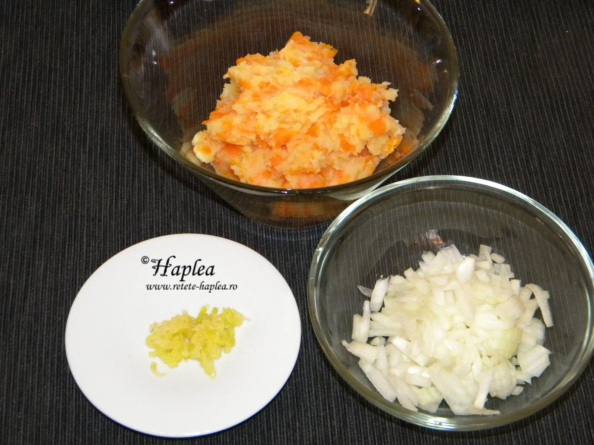 bulete de cartofi cu mozzarellla poza 2