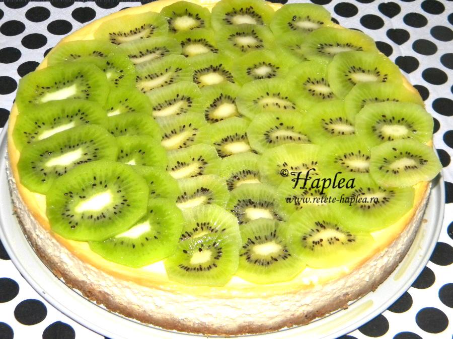 cheesecake cu kiwi poza 10