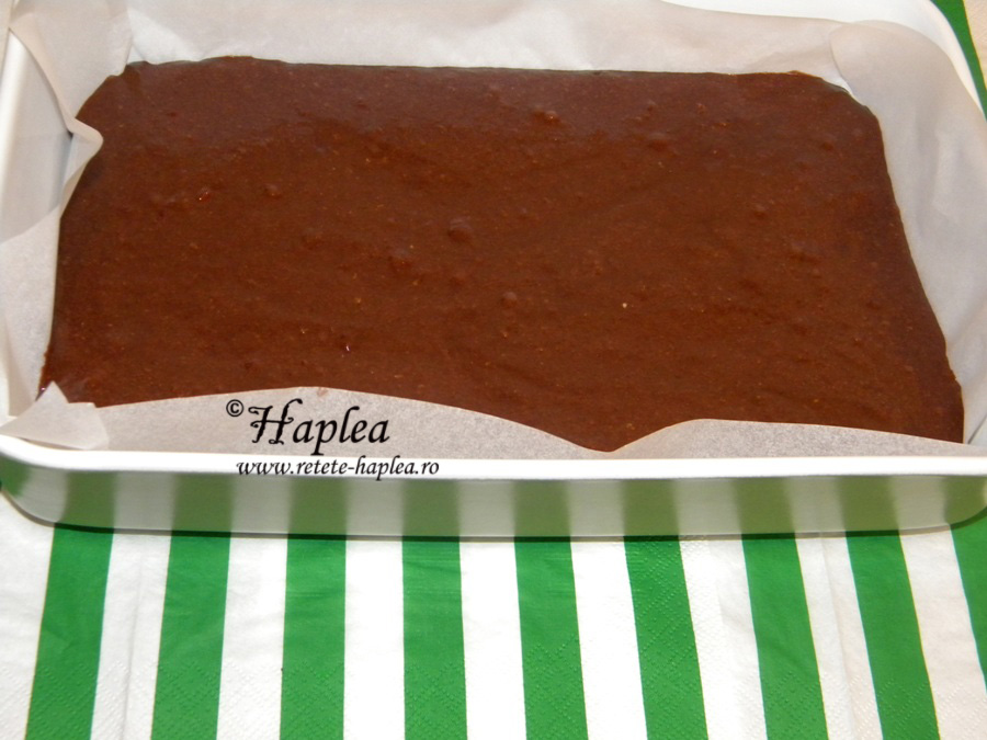 brownies cu visine poza 5