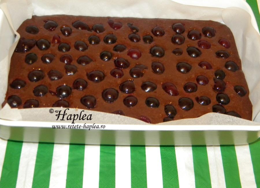 brownies cu visine poza 6