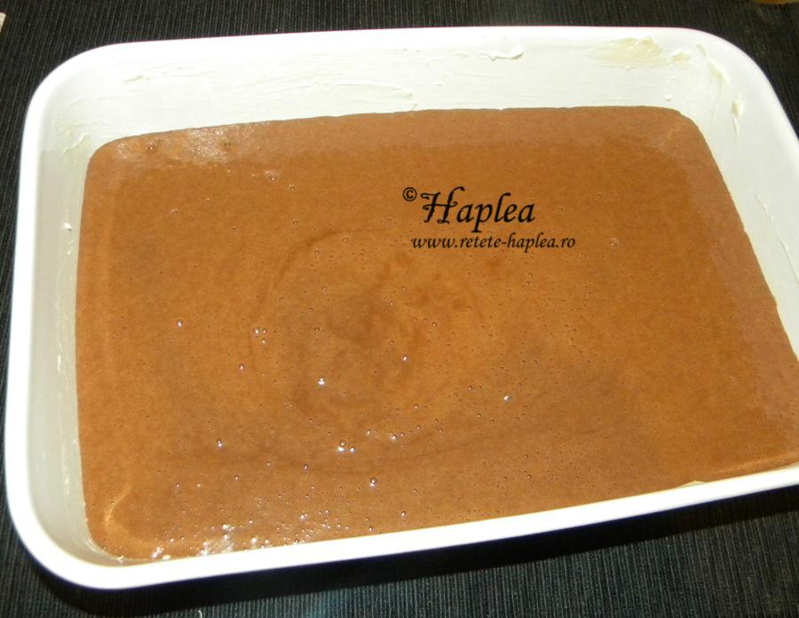 brownies cu crema de branza si visine poza 5