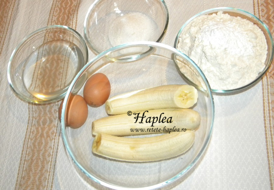 muffins cu banane si ulei de cocos poza 1
